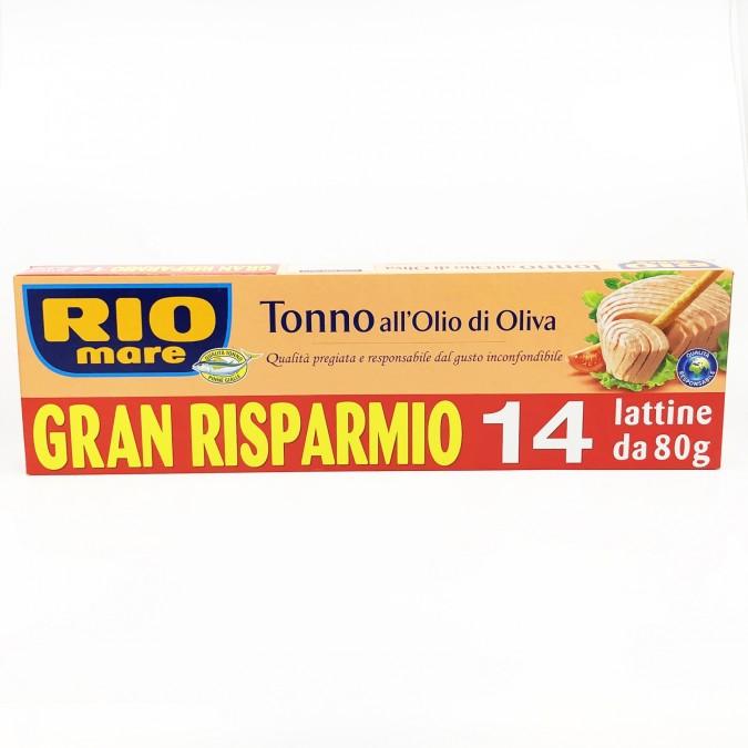 Rio Mare Tonhalkonzerv 14x80g